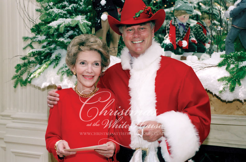 Nancy Reagan's Christmas at the White House