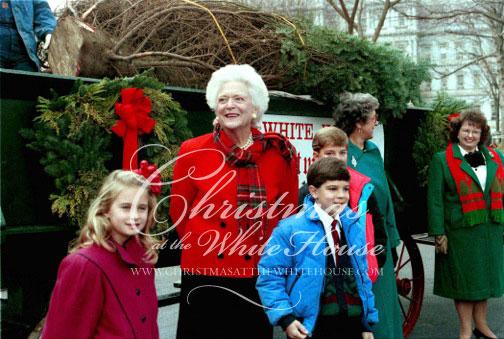 Barbara Bush's Christmas at the White House