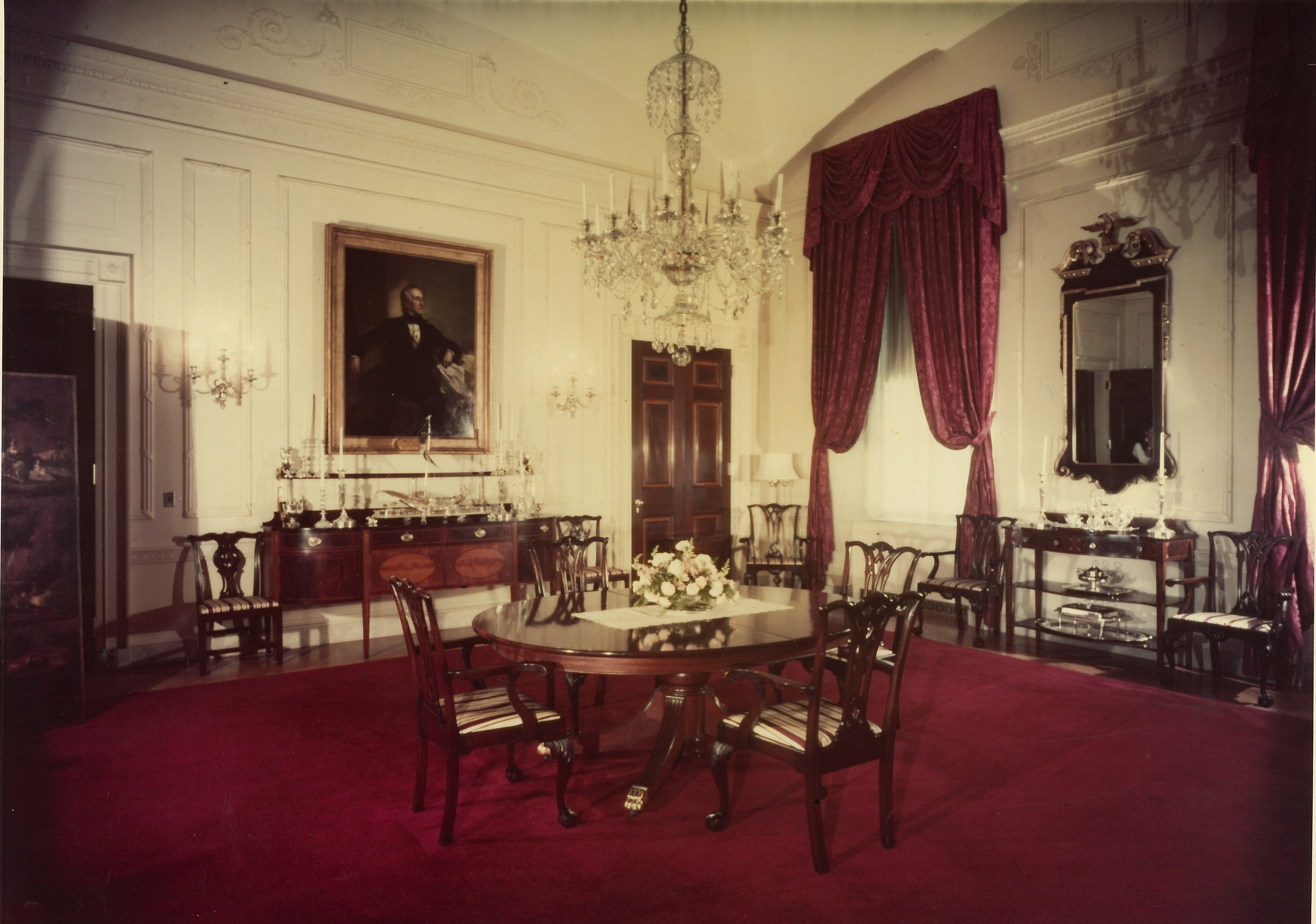 Red Room White House Renovations