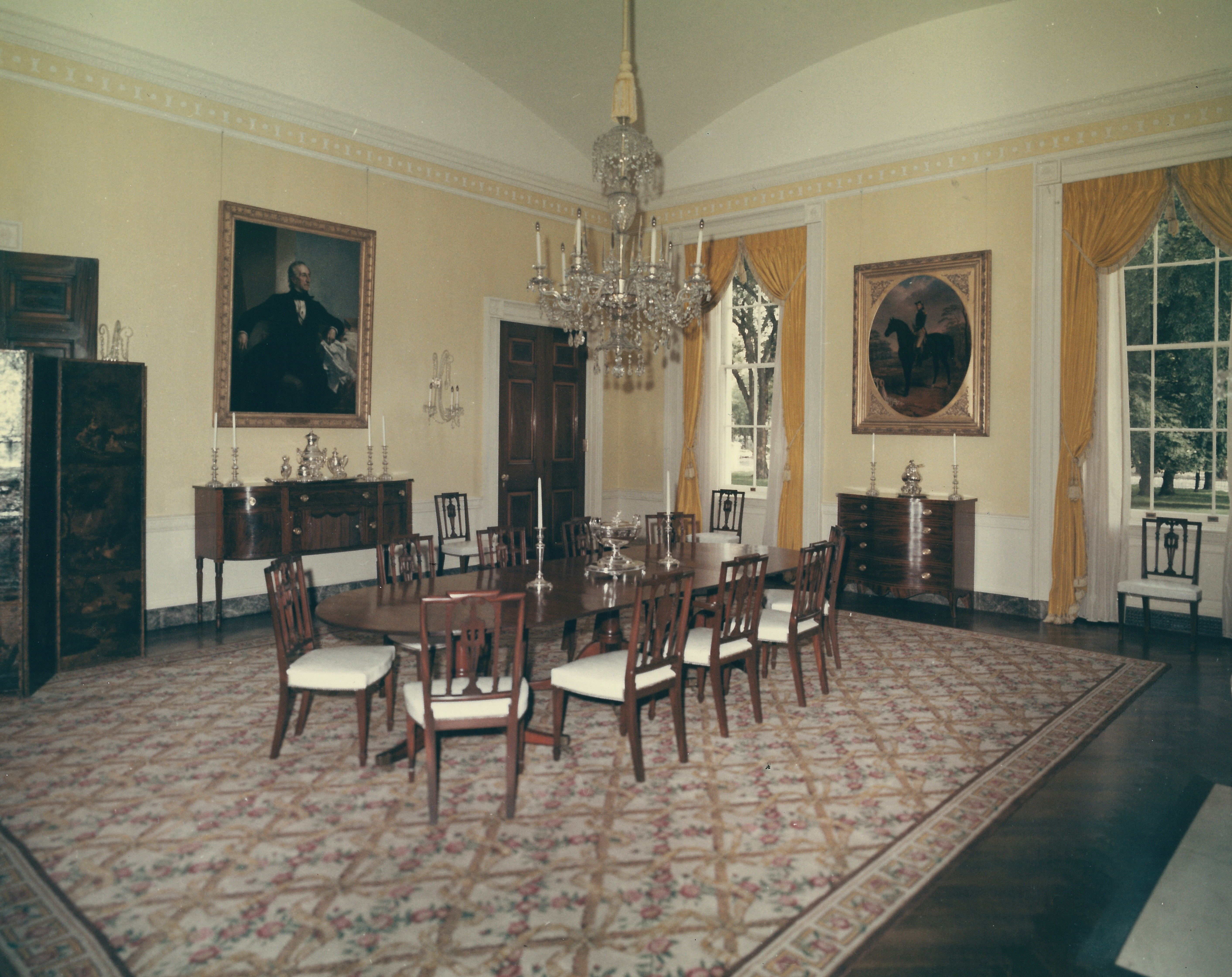 Family Dinning Room At The White House