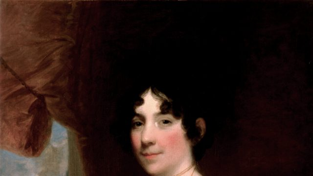 On this day in 1814 - Dolley Madison