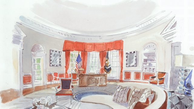 IN PICTURES: How Top Designers Would Decorate the White House for Donald Trump and Hillary Clinton