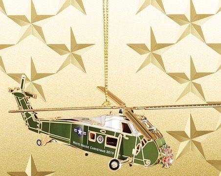 White House Christmas Ornament 2019.Jennifer Pickens White House Wednesdays Blog